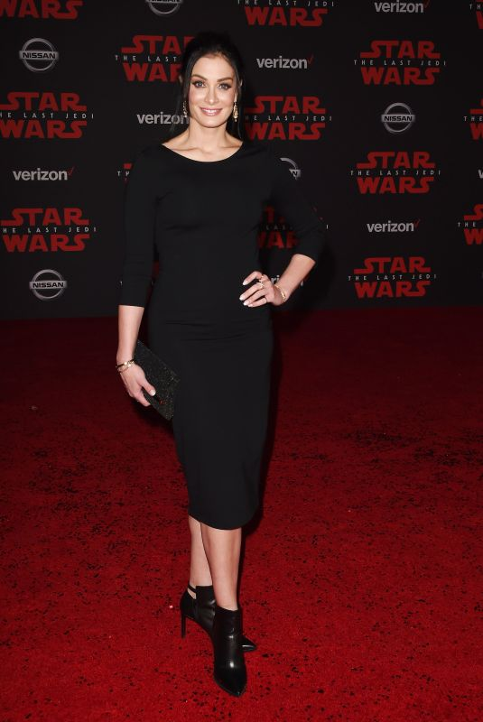 DAYANARA TORRES at Star Wars: The Last Jedi Premiere in Los Angeles 12/09/2017