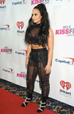 DEMI LOVATO at 103.5 Kiss FM