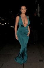 DEMI ROSE MAWBY Night Out in London 12/21/2017