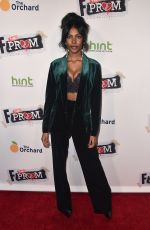 DIAMOND WHITE at F the Prom Premiere in Hollywood 11/29/2017