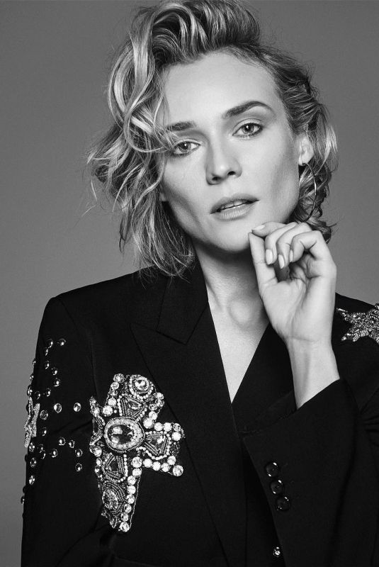DIANE KRUGER for Modern Luxury Magazine, January 2018