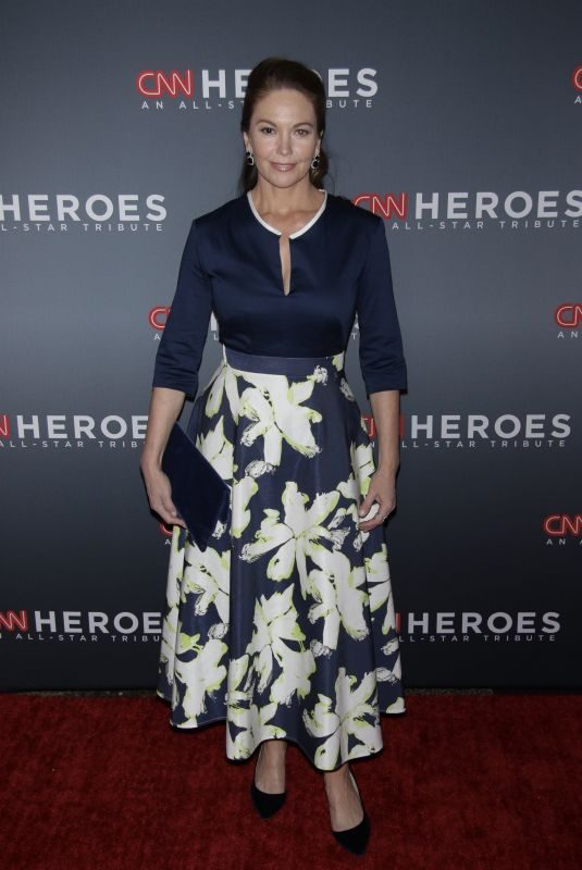 DIANE LANE at 11th Annual CNN Heroes: An All-star Tribute in New York 12/17/2017