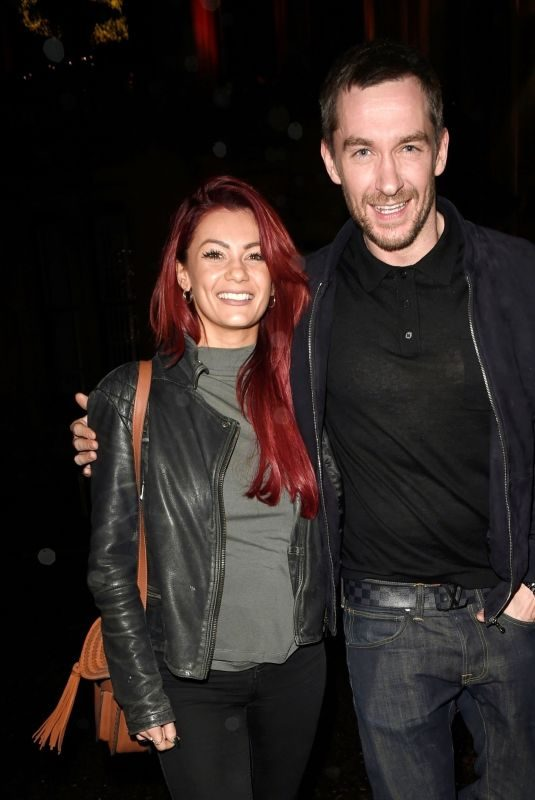 DIANNE BUSWELL and Anthony Quinlan Leaves Grand Pacific Restaurant in Manchester 12/22/2017