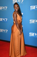 DINA ASHER-SMITH at BBC Sports Personality of the Year Awards in Liverpool 12/17/2017