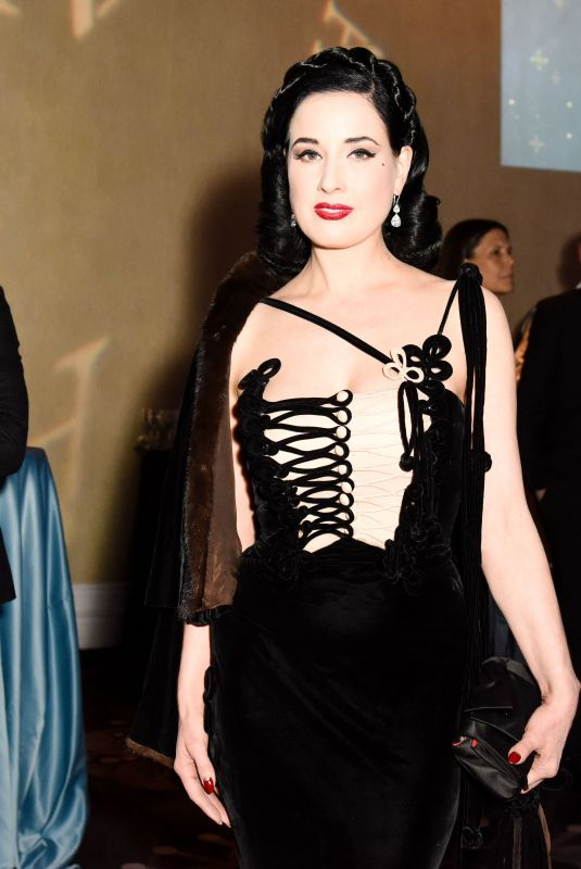 DITA VON TEESE at American Ballet Theatre Holiday Benefit Gala in Los Angeles 12/11/2017