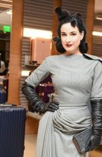 DITA VON TEESE at Rimowa x Alexandre Arnault Pop-up Event in Los Angeles 12/12/2017