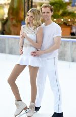 DONNA AIR at Dancing on Ice Photocall in London 12/19/2017