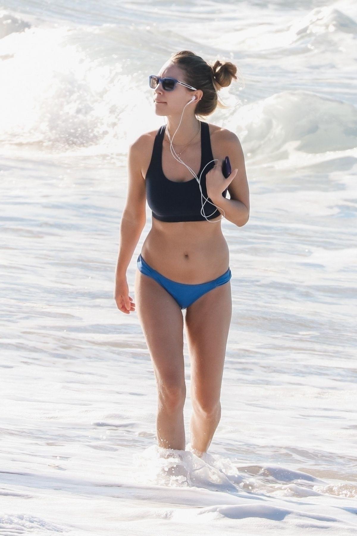 DYLAN PENN in Bikini at a Beach in Hawaii 12/28/2017