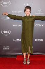 EDITH GONZALEZ at Fenix Film Awards in Mexico City 12/06/2017