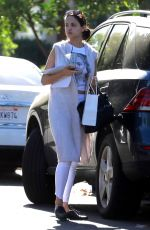 EIZA GONZALEZ Out and About in Studio City 11/30/2017