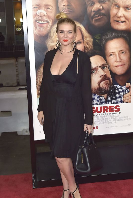 ELENA SAMODANOVA at Father Figures Premiere in Hollywood 12/13/2017