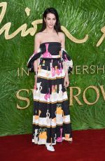 ELISA LASOWSKI at British Fashion Awards 2017 in London 12/04/2017