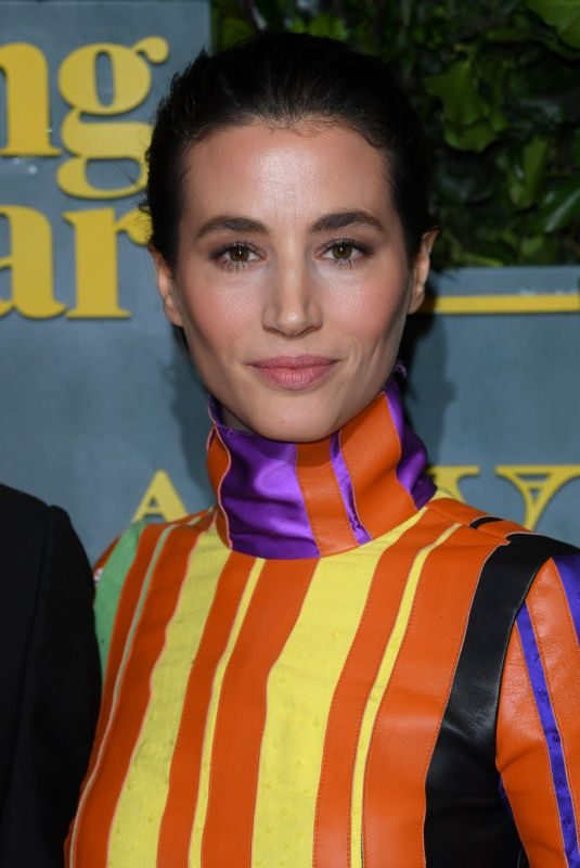ELISA LASOWSKI at London Evening Standard Theatre Awards in London 12/03/2017