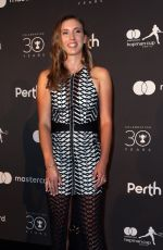 ELISE MERTENS and David Goffin at Hopman Cup New Years Eve Players Ball in Perth 12/31/2017