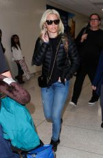 ELIZABETH BANKS at LAX Airport in Los Angeles 12/19/2017