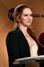 ELIZABETH MCLAUGHLIN at 24th Screen Actors Guild Awards Nominations in Los Angeles 12/13/2017