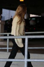 ELIZABETH OLSEN Arrives at LAX Airport in Los Angeles 12/01/2017