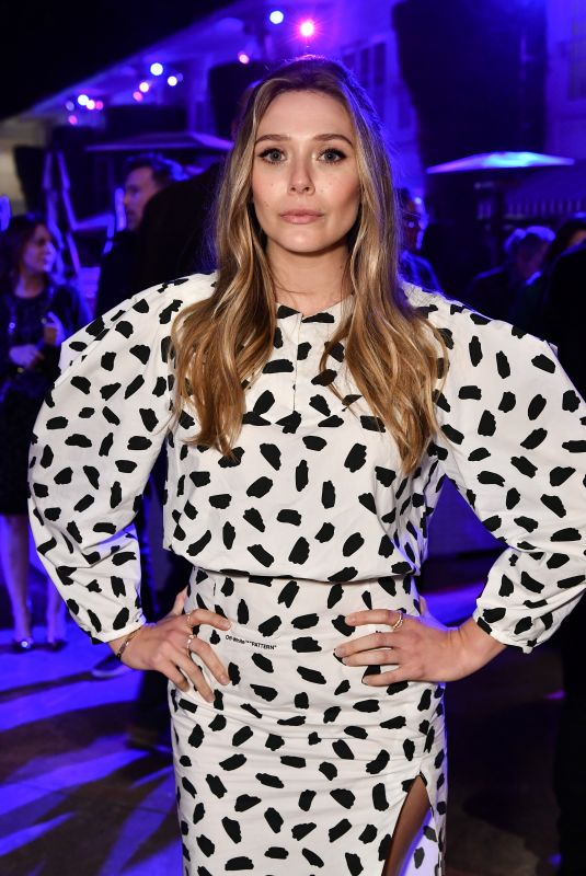 ELIZABETH OLSEN at Wind River Cocktail Party in Los Angeles 12/02/2017