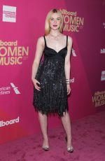 ELLE FANNING at 2017 Billboard Women in Music Awards in Los Angeles 11/30/2017