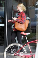 ELLE FANNING Out and About in Los Angeles 12/20/2017