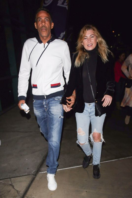 ELLEN POMPEO and Chris Ivery Night Out in Los Angeles 12/03/2017