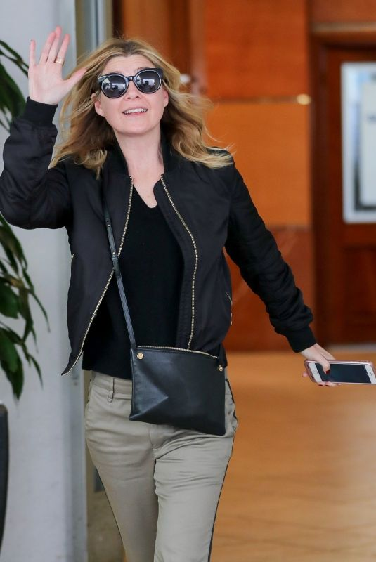 ELLEN POMPEO Out and About in Los Angeles 12/22/2017