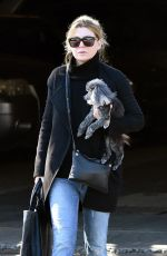 ELLEN POMPEO Out with Her Dog in West Hollywood 12/21/2071