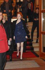 ELLIE BAMBER Leaves Four Seasons Hotel in Hamburg 12/06/2017