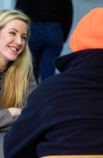 ELLIE GOULDING at Crisis Homeless Centre in London 12/23/2017