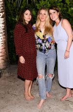 ELLIE GOULDING at Hauser and Wirth Honors Mark Bradford in Miami 12/06/2017