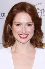 ELLIE KEMPER at New York Stage and Film Winter Gala at Pier 60 in New York 12/05/2017