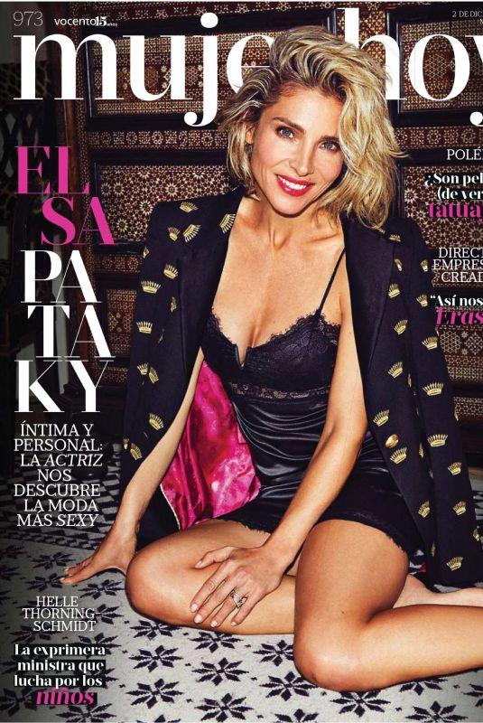 ELSA PATAKY in Mujer Hoy Magazine, December 2017