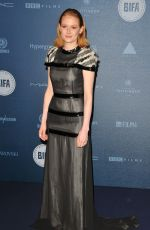 EMILY BEECHAM at British Independent Film Awards in London 12/10/2017