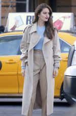 EMILY DIDONATO Out and About in New York 12/11/2017