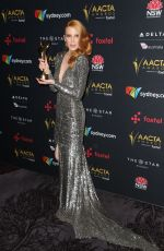 EMMA BOOTH at 2017 AACTA Awards in Sydney 12/06/2017