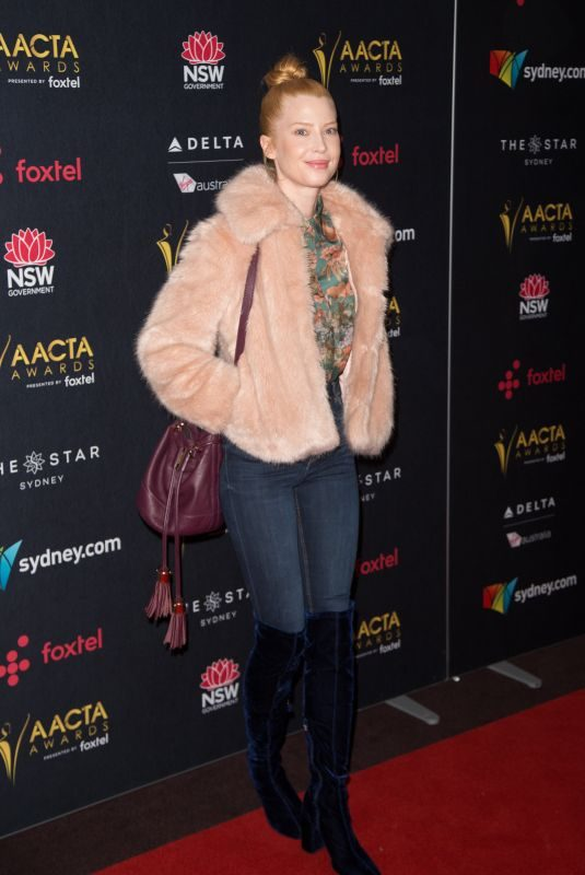EMMA BOOTH at Australian Academy Cinema Television Arts Awards Luncheon in Sydney 12/04/2017