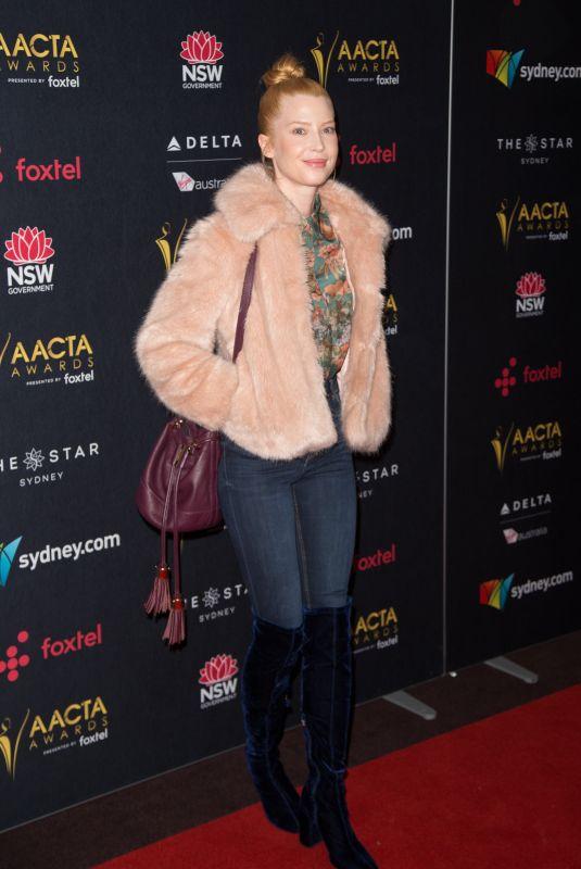 EMMA BOOTH at Australian Academy Cinema Television Arts Awards Luncheon in Sydney 12/04/2017