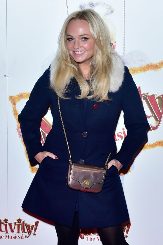 EMMA BUNTON at Nativity Gala Night in London 12/14/2017