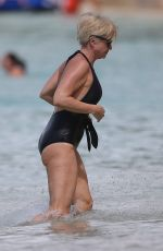 EMMA FORBES in Swimsuit at Sandy Lane Hotel in Barbados 12/28/2017