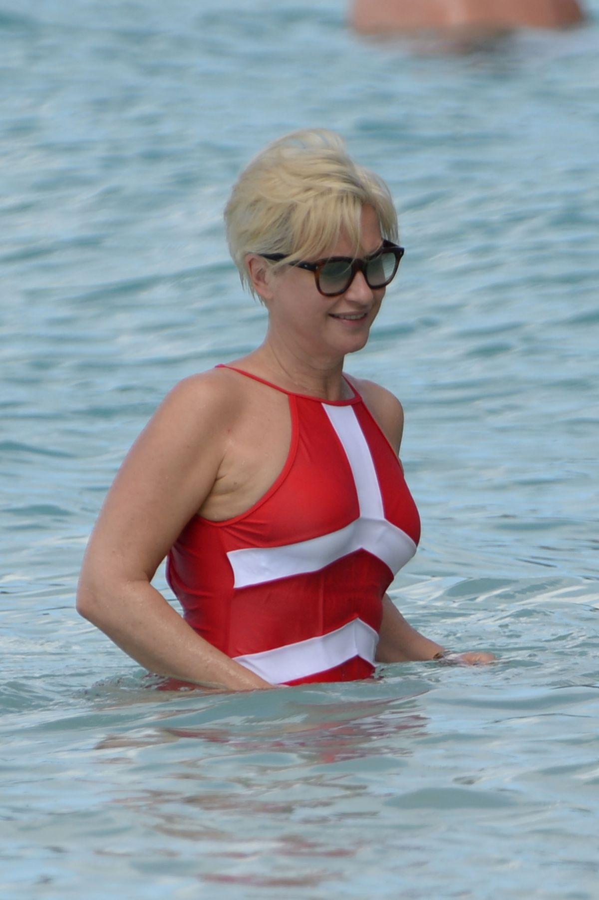 Jemma Lucy in Bikini on the beach in Gran Canaria Pic 26 of 35