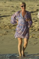 EMMA FORBES on Christmas Day at a Beach in Barbados 12/25/2017