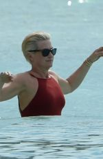 EMMA FORBES on Vacation in Barbados 12/29/2017