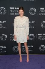 EMMA GREENWELL at The Path Season 3 Premiere at Paley Center in Beverly Hills 12/21/2017