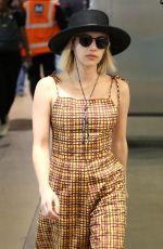 EMMA ROBERTS at Los Angeles International Airport 12/14/2017