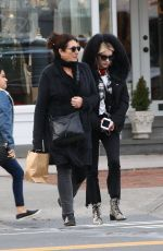 EMMA ROBERTS Out in The Hamptons in New York 12/24/2017