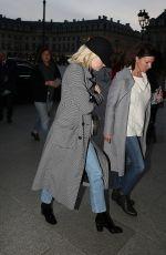 EMMA STONE Arrives at Ritz Hotel in Paris 12/17/2017