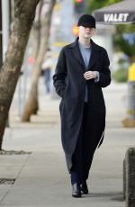 EMMA STONE Out and About in Los Angeles 12/20/2017