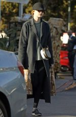 EMMA STONE Shopping for Grocery in Beverly Hills 12/22/2017