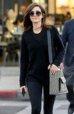 EMMY ROSSUM Out Shopping in Beverly Hills 12/06/207