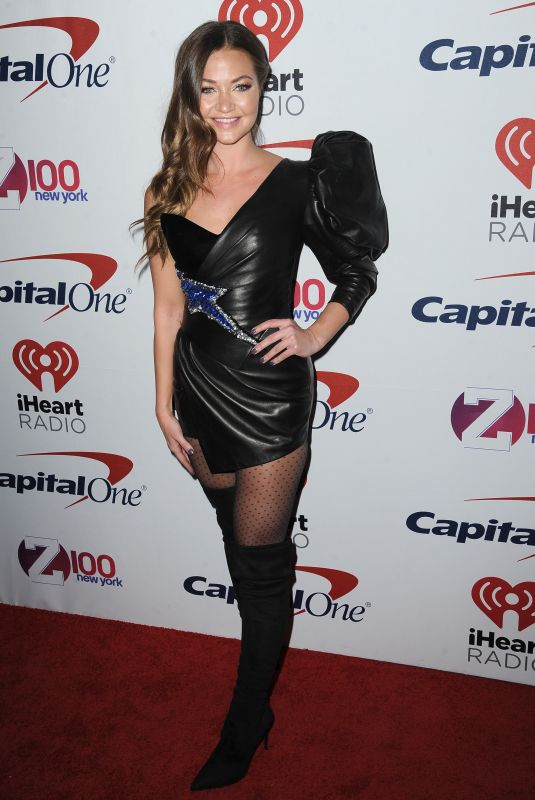 ERIKA COSTELL at Z100 Jingle Ball in New York 12/08/2017